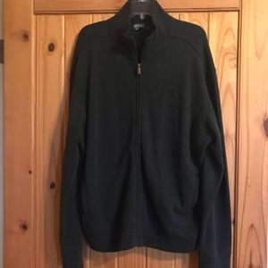 Men's Polo Front Zip Jacket
